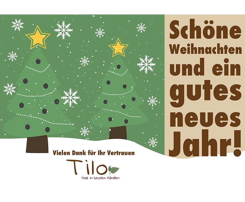Tilo-Weihnachtskarte